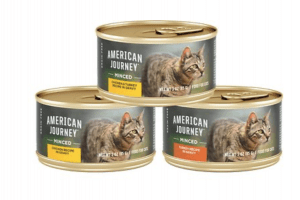 American Journey Minced Poultry in Gravy Variety Pack Grain-Free Canned Cat Food