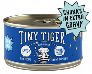 Tiny Tiger Chunks Grain-Free Canned Cat Food